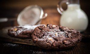cookie de cacau