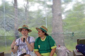 As chefes Izabel Alvares e Regina Tchelly falam sobre alimentação